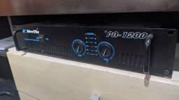 Potência amplificador New Vox Pa-1200