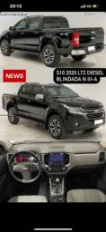 Título do anúncio: S10 LTZ 2020 blindada diesel