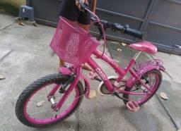 Bicicleta linda rosa