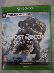 Ghost Recon breakpoint Xbox one (mídia física)