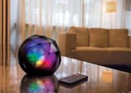 Caixa de Som e Luminária Multicolor MOX