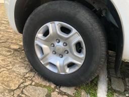 Jogo de rodas com pneus meia vida