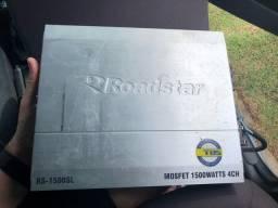 Módulo amplificador Roadstar RS-1500SL 4 canais
