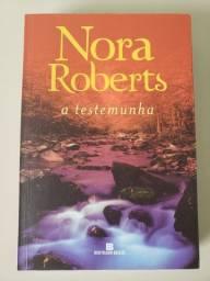 A testemunha (Nora Roberts) - em ótimo estado