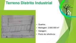 Título do anúncio: terreno no distrito industrial 1
