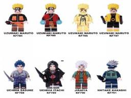 08 Miniaturas: Naruto = Estilo Lego