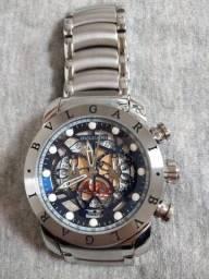 Relógio bvlgari vidro de safira modelo novo