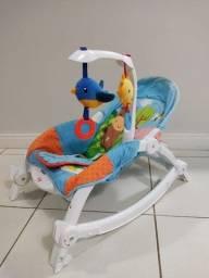 Cadeira descanço e balanço bouncer