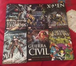 6 livros romanceados da Marvel