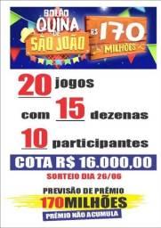 BOLÃO QUINA DE SÃO JOÃO