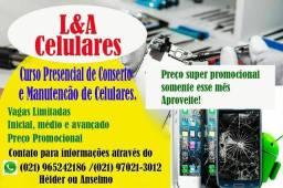 Curso Presencial de conserto e manutenção de celulares