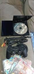 Playstation 2 preto slim