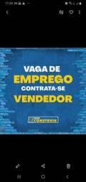 VAGA PARA VENDEDOR COM EXPERIÊNCIA EM MATERIAL DE CONSTRUÇÃO