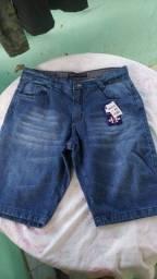 Bermudas jeans promoção