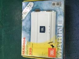 Amplificador JBL marinizado 4 canais-Barco-lancha