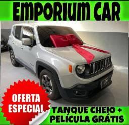 OFERTA RELÂMPAGO!!! JEEP RENEGADO 1.8 SPORT AUTOMÁTICO ANO 2016