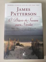 O diário de Suzana para Nicolas (James Patterson) - em ótimo estado