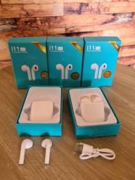 Fone de ouvido sem fio i11 Bluetooth