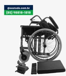 Título do anúncio: Cadeira de Rodas D400 (85)9. *