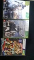 Battlefield  4 , destiny 1 e dois jogos de Kinect  os originais por 40