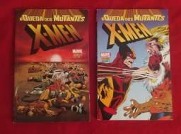 A queda dos mutantes 1 e 2 / Hqs da Marvel