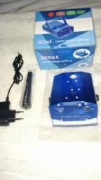 Mini Projetor Holográfico (Laser Stage Lighting)