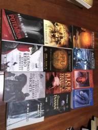12 livros de autores diversos