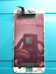 Frontal IPhone 6 Plus Branca Testada 100%, na garantia