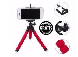 Mini Tripé Flexível Para Celulares, Gopro, Câmeras Digitais - Entrega Grátis