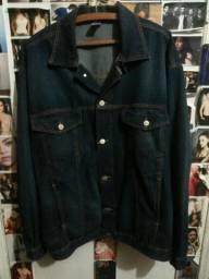 Jaqueta jeans grossa