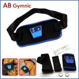 Tonificador Muscular Abdominal Braço Perna Estimulação Elétrico + 2 Baterias + Gel