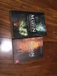 2 livros de George R.R. Martins