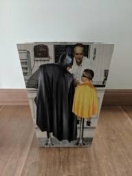 Lixeira Batman Spider Man - Usada bem conservada
