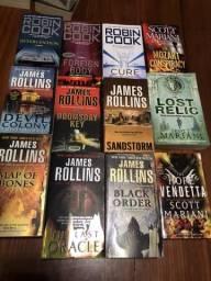 12 livros em inglês. Autores diversos