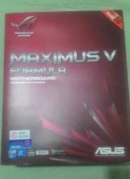 Placa mãe Asus Maximus Formula V - Usada