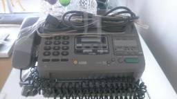 Aparelho de telefone e fax com secretária eletrônica marca panasonic