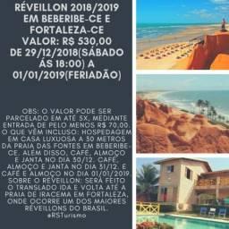 RÉVEILLON 2018/2019 em BEBERIBE-CE e FORTALEZA-CE ????? Valor: R$ 530,00.