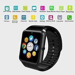 84482e800f3 Lançamento novo zerado Relógio celular q faz ligações e muito mais