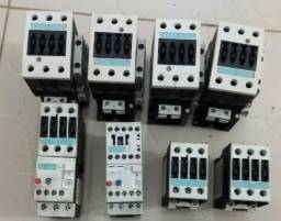 Lote 8 contatores Siemens