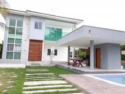 Casa moderna com área de lazer privativa em condomínio fechado | Oficial Aldeia Imóveis