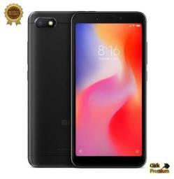 KIT Xiaomi Redmi 6A Global- 16 GB / 2 GB + Película + Fone de Ouvido - 7 Brindes- Promoção