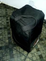 Cajón eletroacústico/ acompanha bag + flanelinha