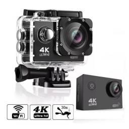 Câmera Filmadora Esportiva 4K Ultra hd Wi-fi Prova Dágua