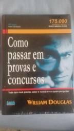 Livro William Douglas - Como passar em provas e concursos