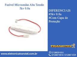 Fusível Microondas Alta Tensão 5kv 0.8a