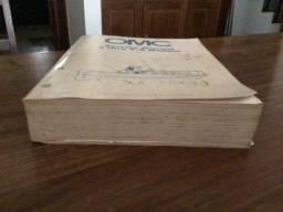Manual de serviço para motores de popa: OMC - Service Manual 2 thru v-6 Models