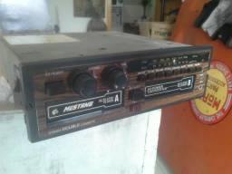 Rádio automotivo toca fitas mustang ford com 2 deck