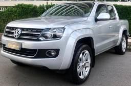 Amarok HIGHLINE A/T Diesel 2014 C/Couro e Rodas 20 EXTRA - 2014