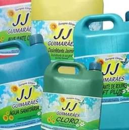Produtos de limpeza muito concentrado
