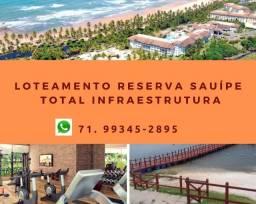 Sauípe, Imperdível: Reserva lotes a partir de 450 m², entre a Lagoa e o Mar